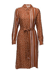 Lykke, 332 Dot and Stripes - DOTS AND STRIPES RUST