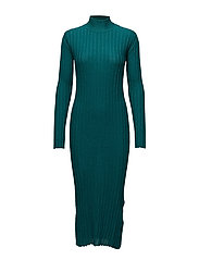Luise, 342 Ribbed Sparkle knit - EMERALD