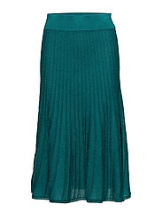 Emilia, 342 Ribbed Sparkle knit - EMERALD