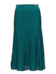 Emilia, 342 Ribbed Sparkle knit - EMERALD
