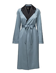 Leanne, 447 Leanne Coat - DUSTY BLUE