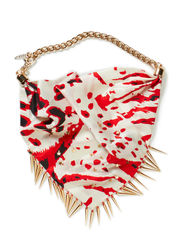 JEWELSCARF RED STAR - red