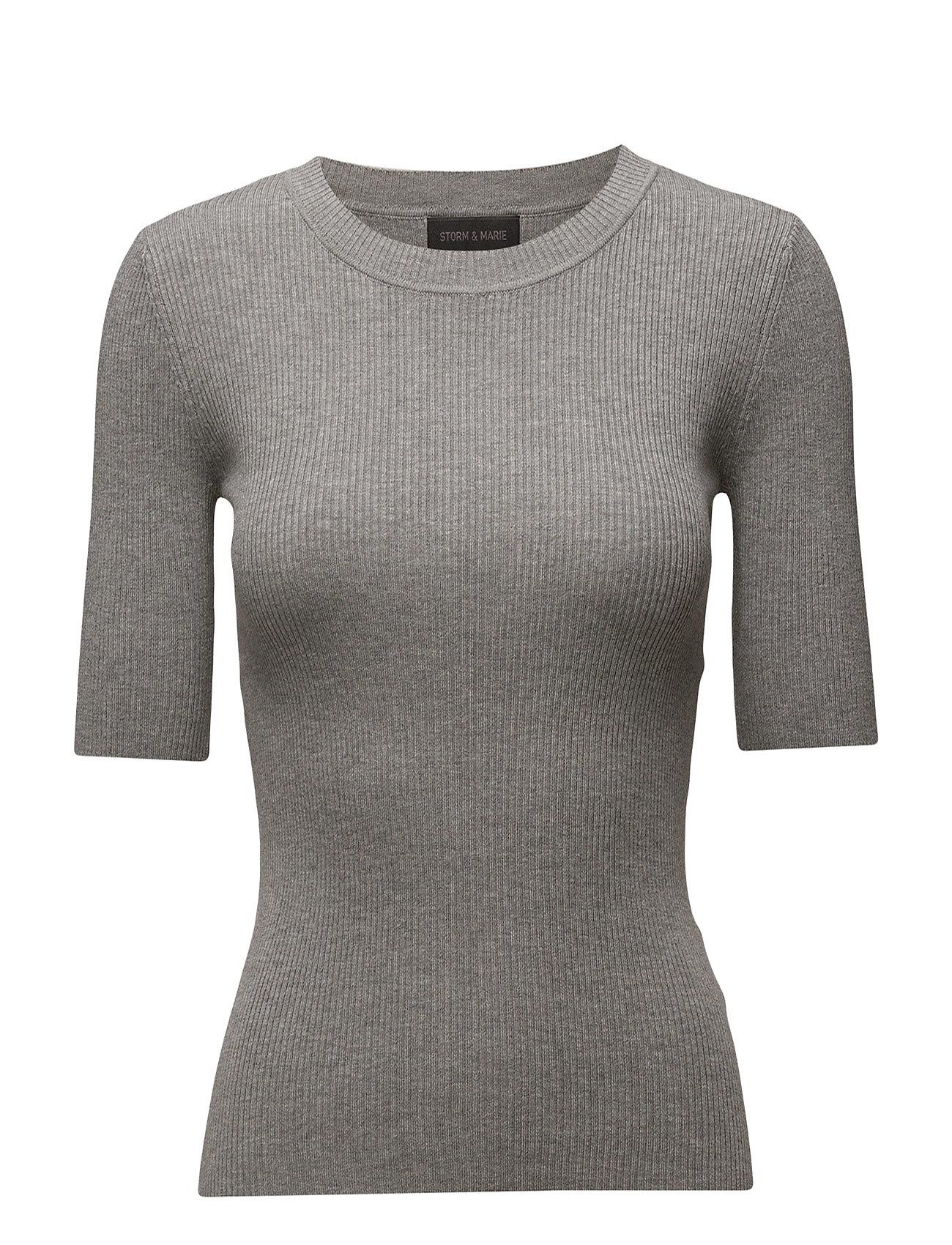 Nap-Ss_sp17 Storm & Marie Sweatshirts til Damer i Grey Melange
