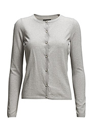 Jaren Cardigan - 003 Light Grey Melange