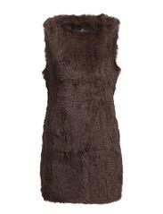 Matilda Vest Long - 169 Mocca