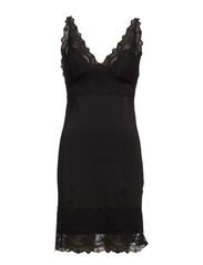 Laren Slip Dress - 001 Black
