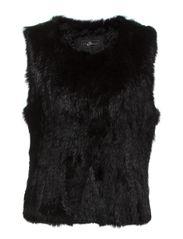 Matilda Vest Short - 001 001 Black