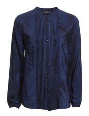 Madeline Shirt - 035 Snake True Blue