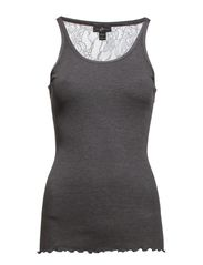 Boudoir Top - 002 Dark Grey Melange