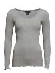 Paloma L/S - 003 Light Grey Melange