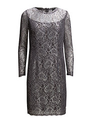 Yahaira Dress L/S - 026 Pewter