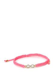 Infinity Bracelet - Neon Pink