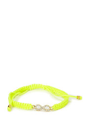 Infinity Bracelet - Neon Yellow