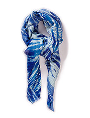 Batik Scarf - Blue