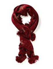 Spell scarf - Burgundy