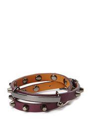 Rib Bracelet - Plum