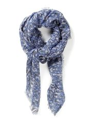 Camou Scarf - Blue