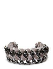 Velvet Bracelet - Grey