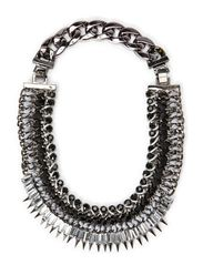 Maxi Necklace - Grey