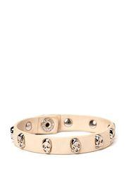 Face Bracelet Silver - Nude