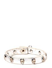 Face Bracelet Silver - Silver