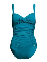 Solid Ruched Onepiece - Maldives
