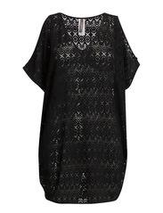 Crochet Kaftan - Black