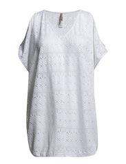 Crochet Kaftan - White
