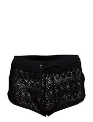 Crochet Shorts - Black