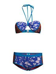 Bandeau Bikini Set - Blue