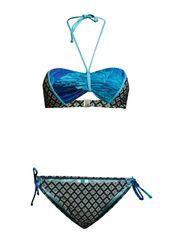 Bandeau Bikini Set - Multi