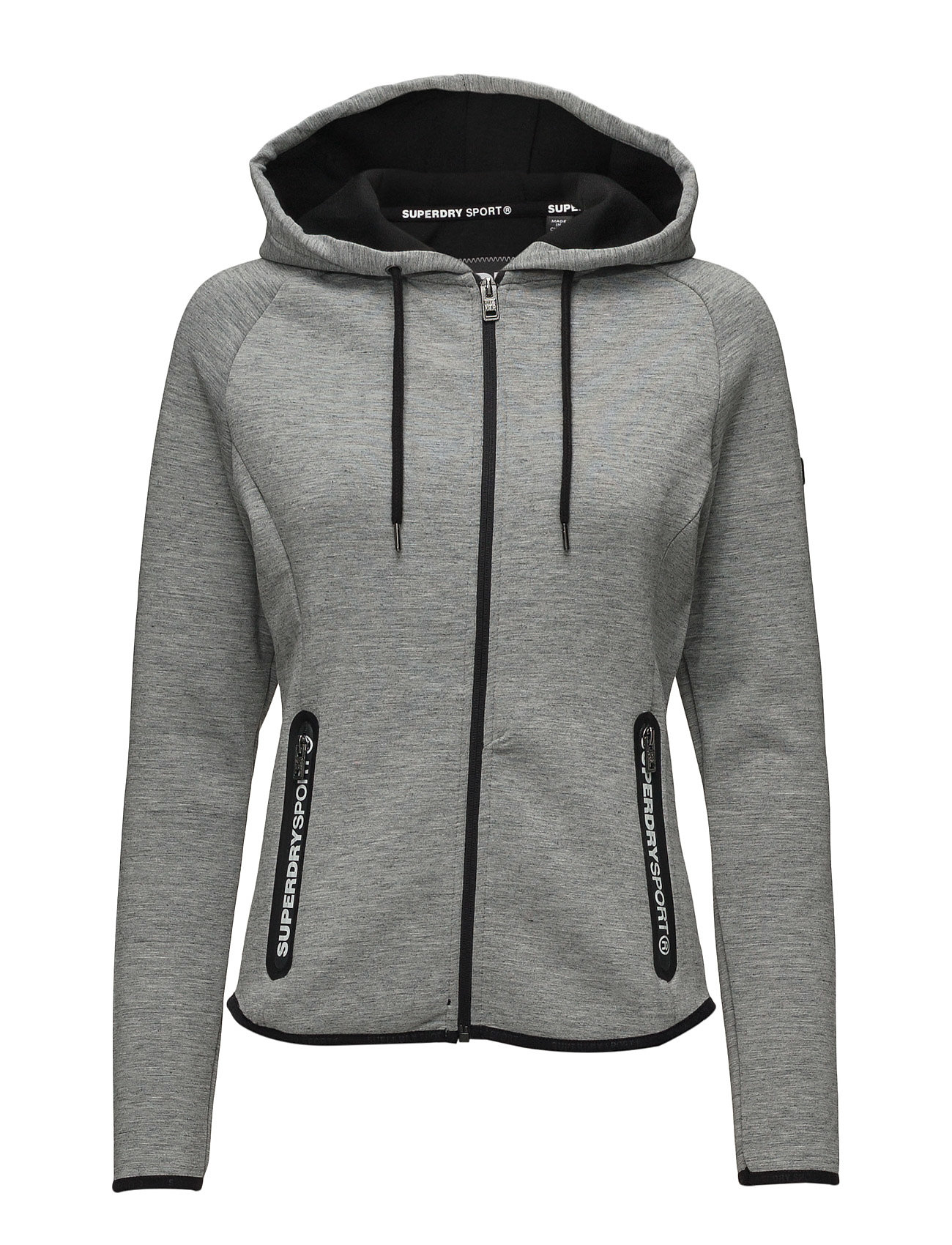 Sd Sport Gym Tech Luxe Ziphood Superdry Sport Sweatshirts til Damer i