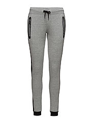 SD SPORT GYM TECH LUXE JOGGER - GREY GRIT/BLACK
