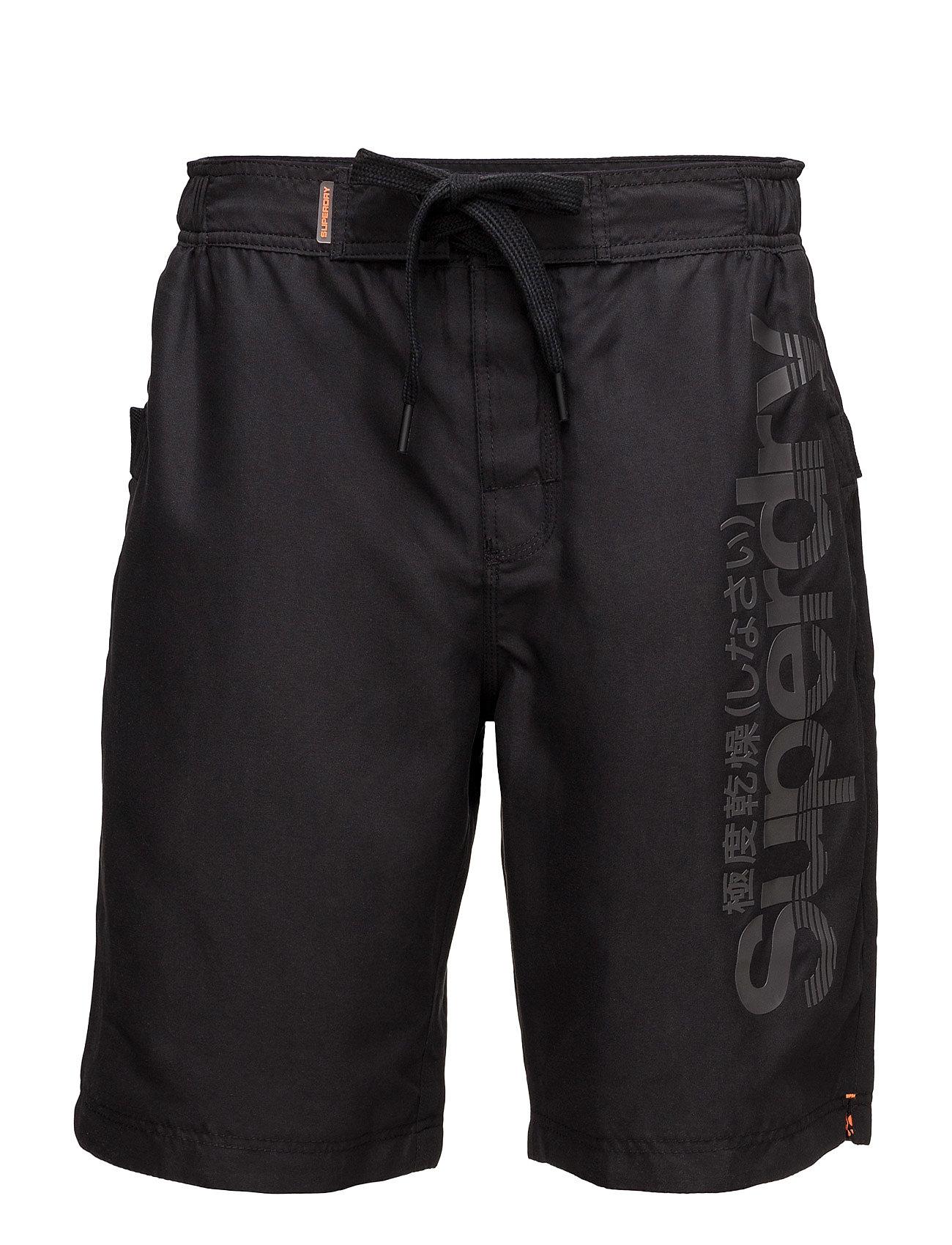 Superdry Boardshort Superdry Shorts til Herrer i Sort