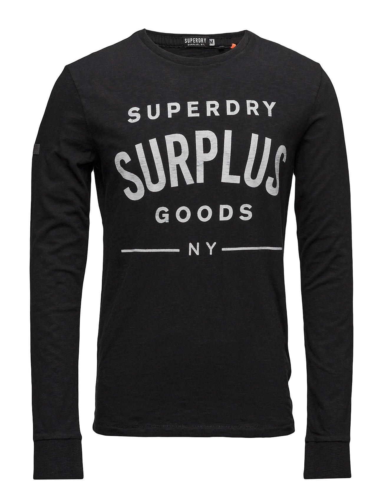 602947bf Superfine Surplus Goods L/S Graphic Tee Superdry Barne til til hverdag og  til fest