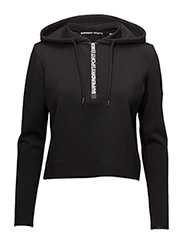 SuperDry - Superdry Sport Gym Tech Luxe Crop Hood