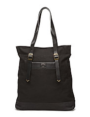 MIDWEST CANVAS TOTE - BLACK