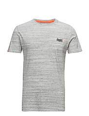 ORANGE LABEL VINTAGE EMB TEE - PUMICE GRIT