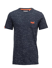 O L RAIN SLUB POCKET TEE - NAVY/OPTIC