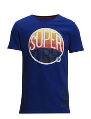 HOOPER SURF TIN TAB-TEE - Mazarine Blue