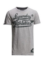 ICARUS LITE-ATHLETICS TEE - Pale Grit Marl