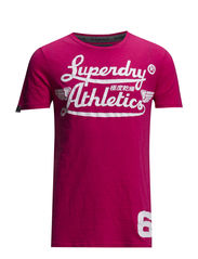 ICARUS LITE-ATHLETICS TEE - Punk Pink