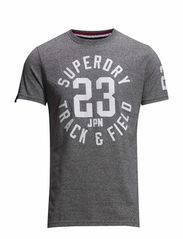 TRACKSTER TEE - Phoenix Grey Grit