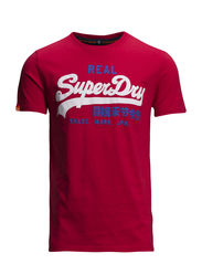 VINTAGE LOGO DUO-ENTRY TEE - Indiana Red