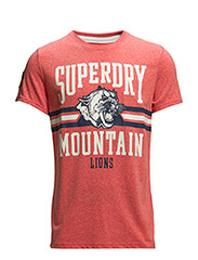 MOUNTAIN LIONS TEE - Red