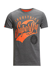 NO 1 INDUSTRIES-ENTRY TEE - Dark Marl