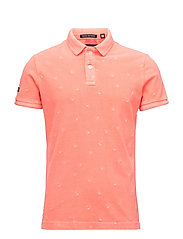 VINTGE DESTRY S/S BERMUDA POLO - WASHED CORAL