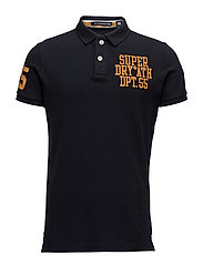 CLASSIC S/S SUPERSTATE POLO - TRUEST NAVY