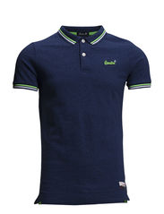 TWIN TIPPED POLO - Marvel Blue Grindle