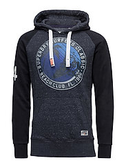 PACIFIC SURF RAGLAN HOOD - FRENCH NAVY SNOW